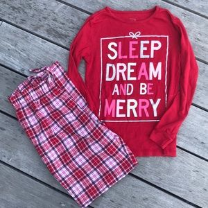 Gap kids Christmas pajamas size 10